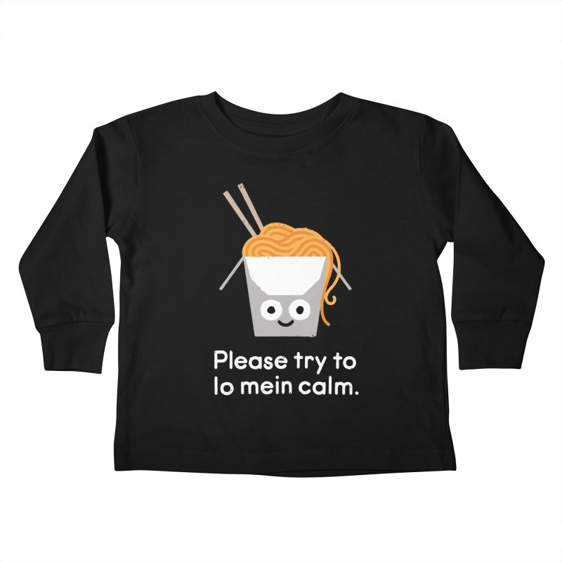 Breathe In, Take-out Kids Toddler Longsleeve T-Shirt by David Olenick