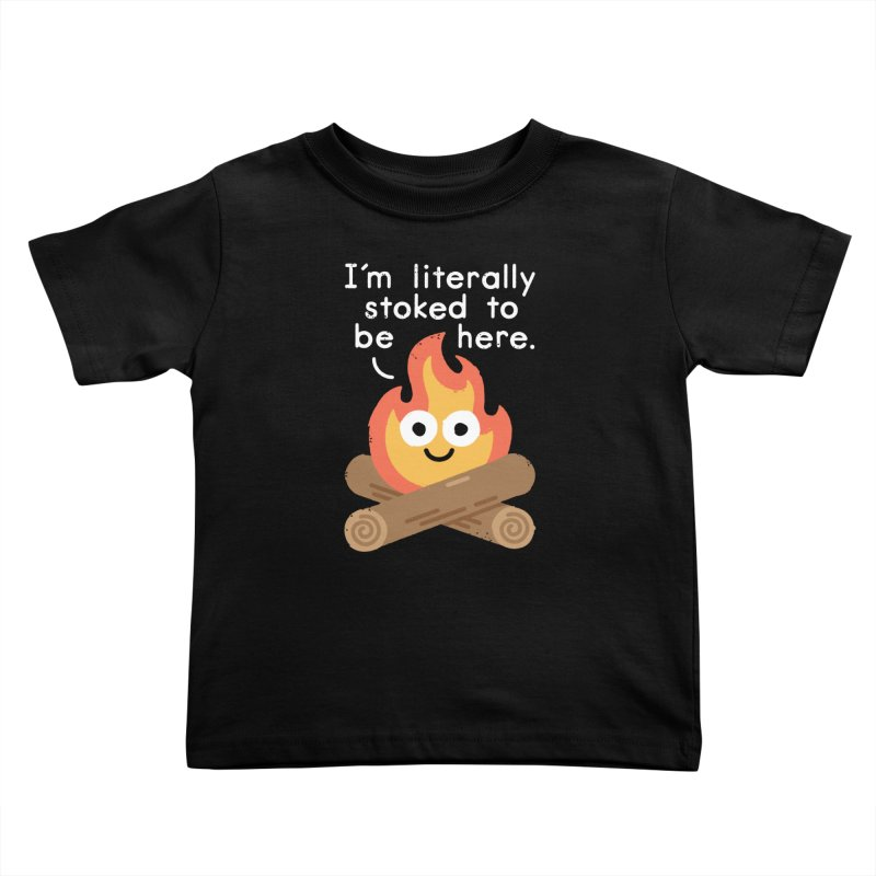 Fired Up Kids Toddler T-Shirt by David Olenick