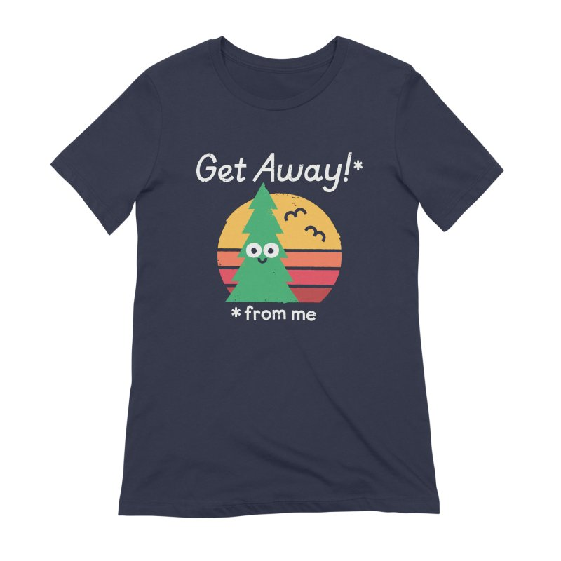 Take A Hike Women's Extra Soft T-Shirt by David Olenick