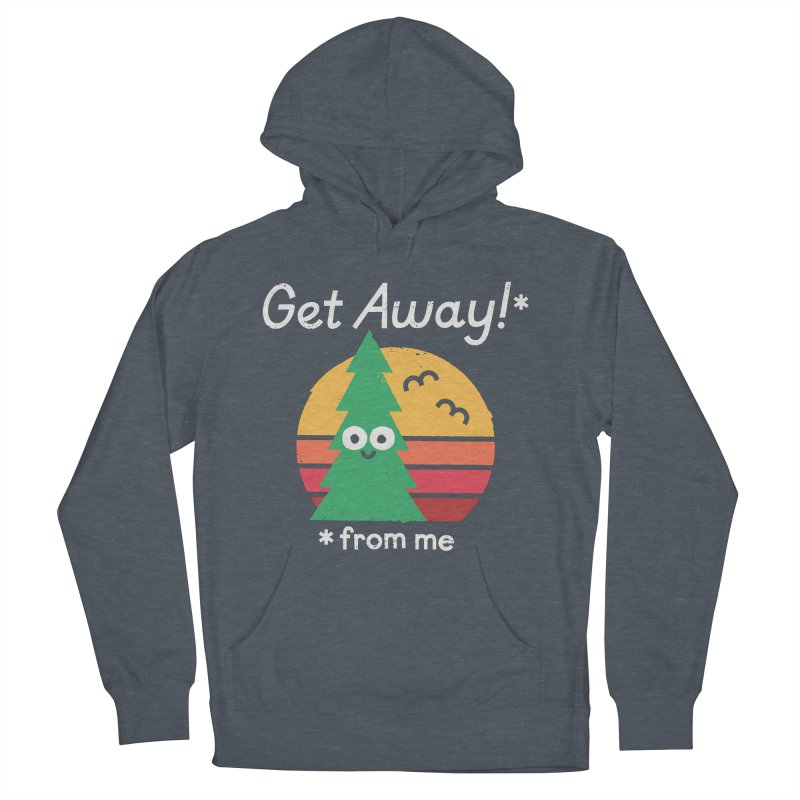 Take A Hike Women's French Terry Pullover Hoody by David Olenick