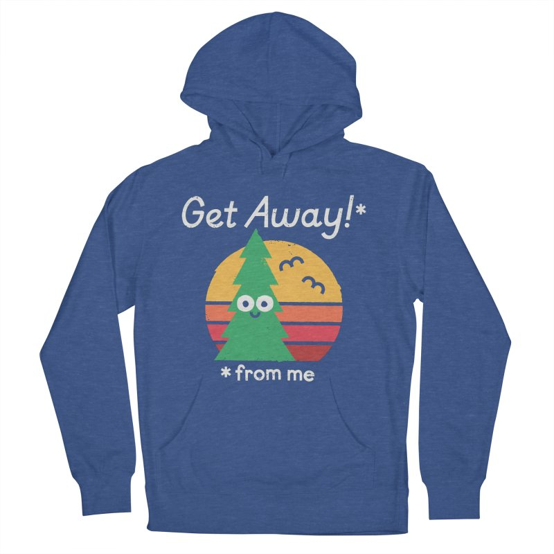 Take A Hike Men's French Terry Pullover Hoody by David Olenick