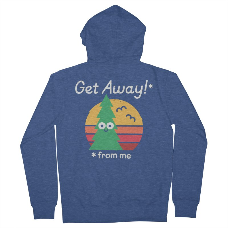 Take A Hike Women's French Terry Zip-Up Hoody by David Olenick
