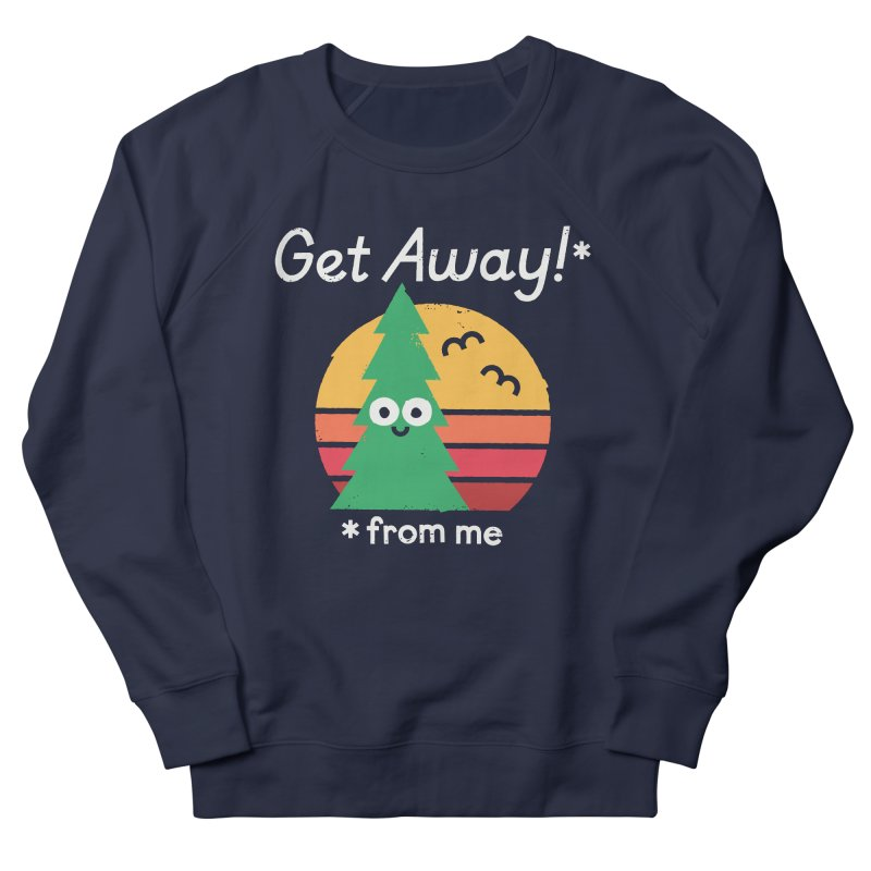Take A Hike Men's French Terry Sweatshirt by David Olenick