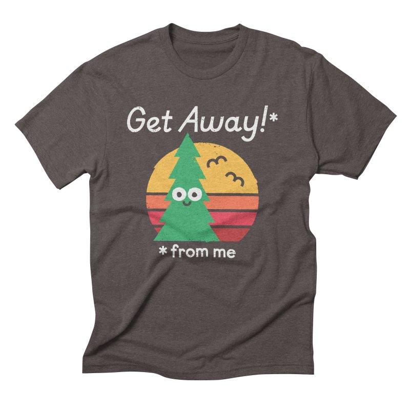 Take A Hike Men's Triblend T-Shirt by David Olenick