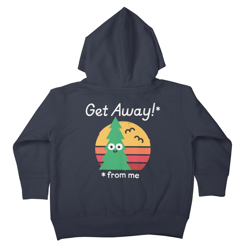 Take A Hike Kids Toddler Zip-Up Hoody by David Olenick