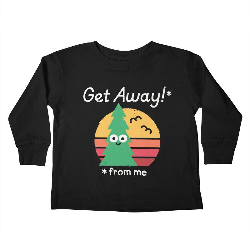 Take A Hike Kids Toddler Longsleeve T-Shirt by David Olenick