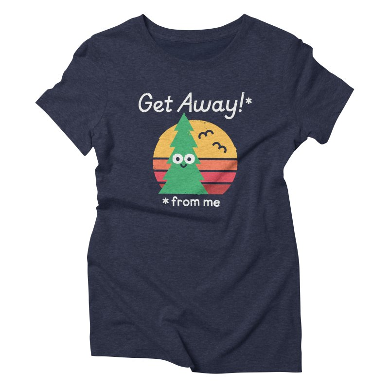 Take A Hike Women's Triblend T-Shirt by David Olenick