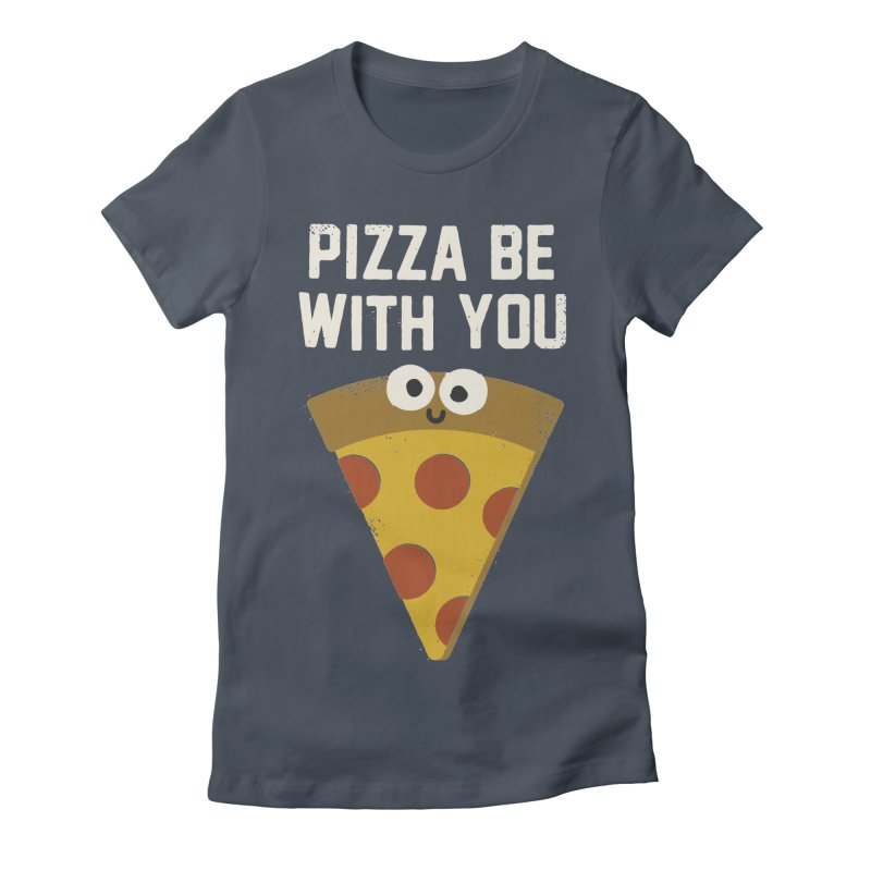 A Pieous Hope Women's Fitted T-Shirt by David Olenick