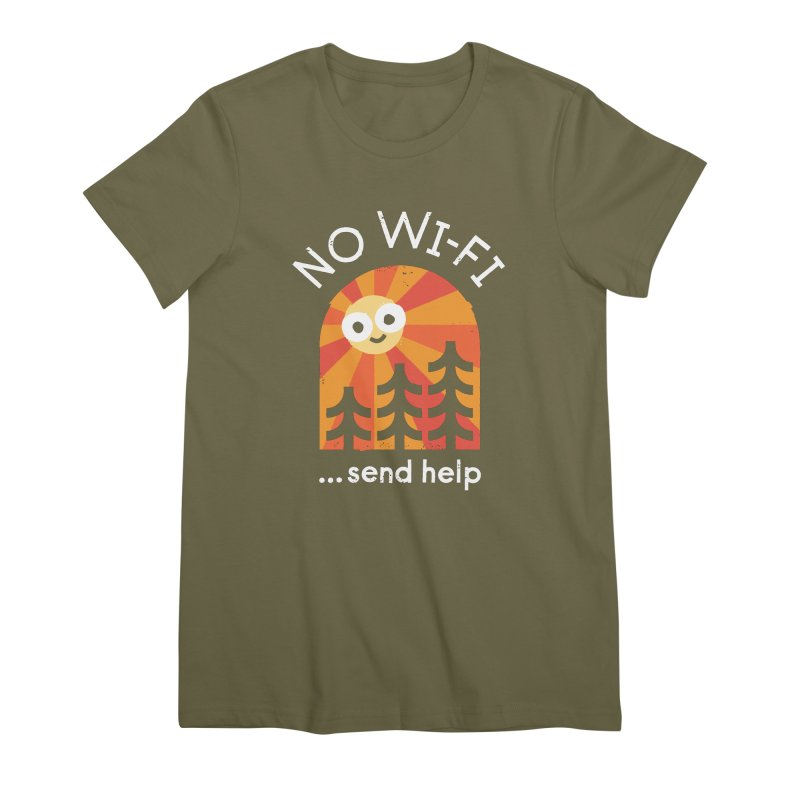 Distress Signal Women's Premium T-Shirt by David Olenick