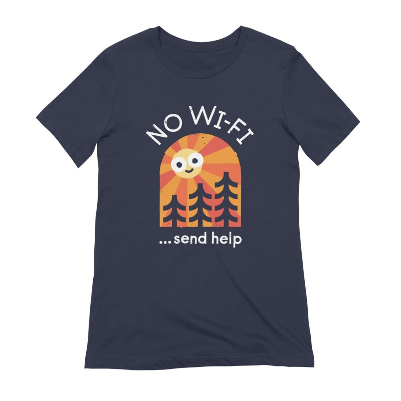 Distress Signal Women's Extra Soft T-Shirt by David Olenick