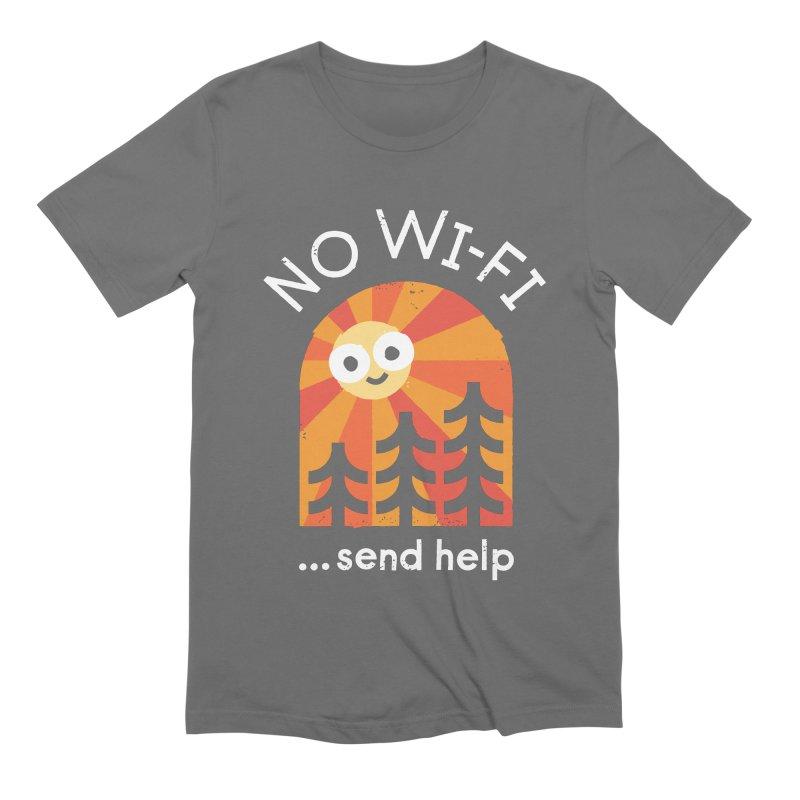 Distress Signal Men's T-Shirt by David Olenick