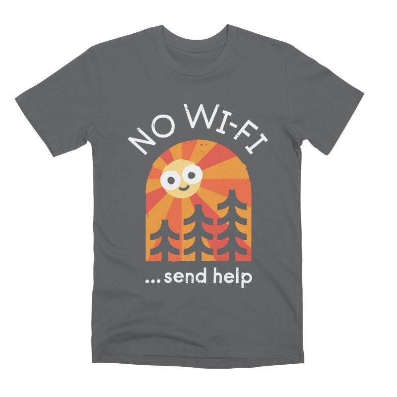 Distress Signal Men's Premium T-Shirt by David Olenick
