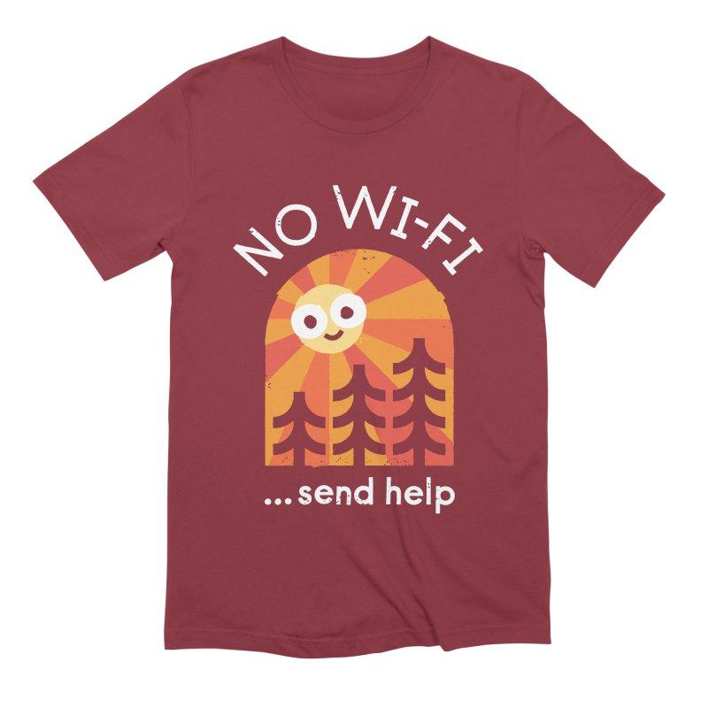 Distress Signal Men's Extra Soft T-Shirt by David Olenick