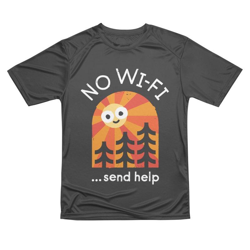 Distress Signal Men's Performance T-Shirt by David Olenick
