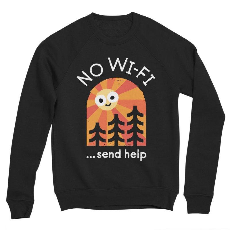 Distress Signal Women's Sponge Fleece Sweatshirt by David Olenick
