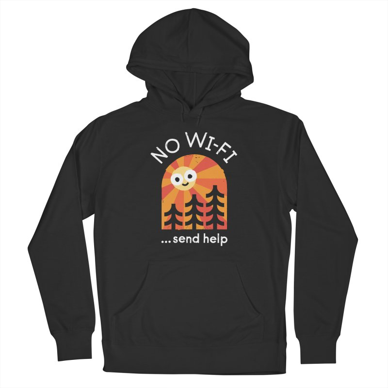 Distress Signal Men's French Terry Pullover Hoody by David Olenick