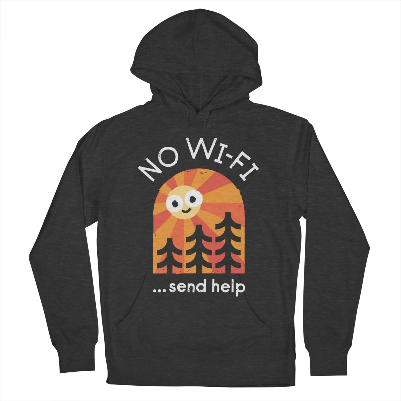 Distress Signal Men's Pullover Hoody by David Olenick