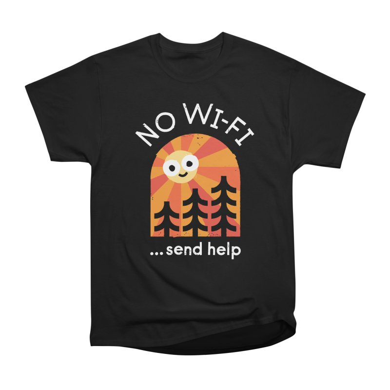 Distress Signal Women's Heavyweight Unisex T-Shirt by David Olenick