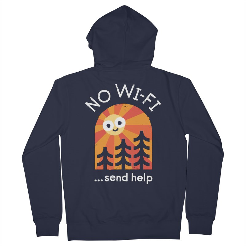 Distress Signal Women's French Terry Zip-Up Hoody by David Olenick