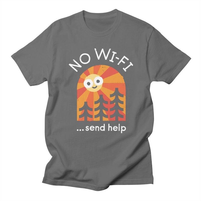 Distress Signal Women's Regular Unisex T-Shirt by David Olenick