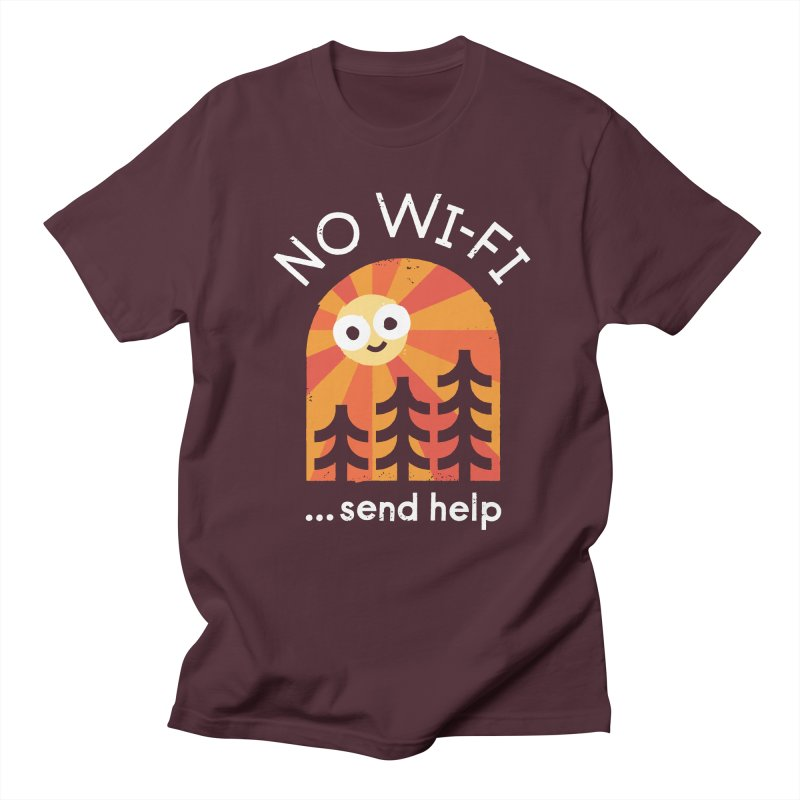 Distress Signal Men's Regular T-Shirt by David Olenick