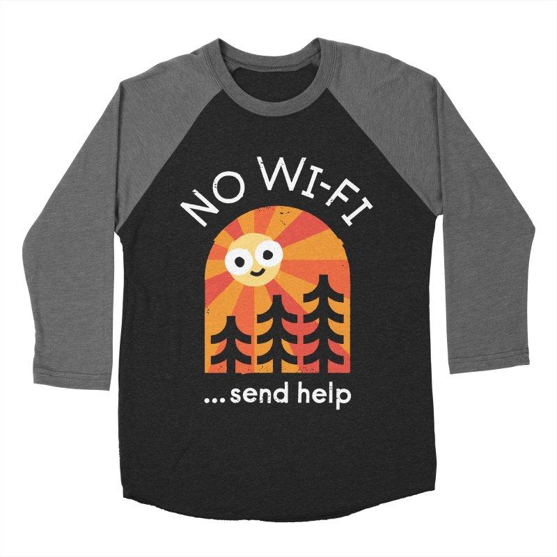 Distress Signal Women's Baseball Triblend Longsleeve T-Shirt by David Olenick