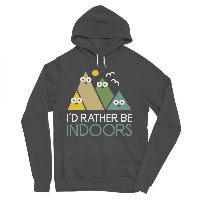 Interior Motives Men's Sponge Fleece Pullover Hoody by David Olenick