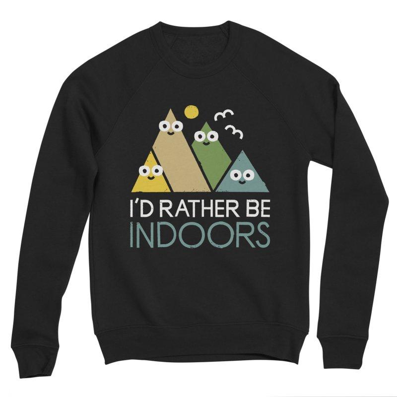 Interior Motives Men's Sponge Fleece Sweatshirt by David Olenick