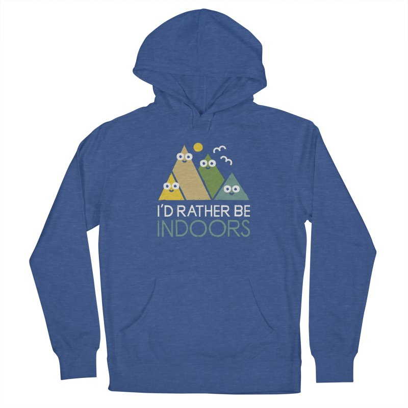 Interior Motives Women's French Terry Pullover Hoody by David Olenick