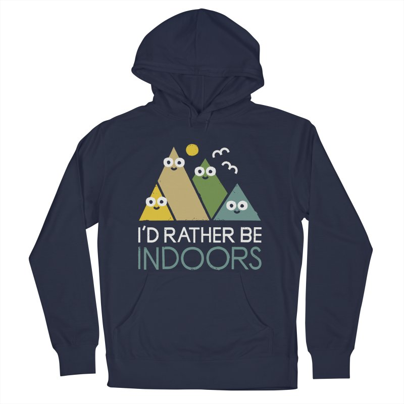 Interior Motives Men's French Terry Pullover Hoody by David Olenick