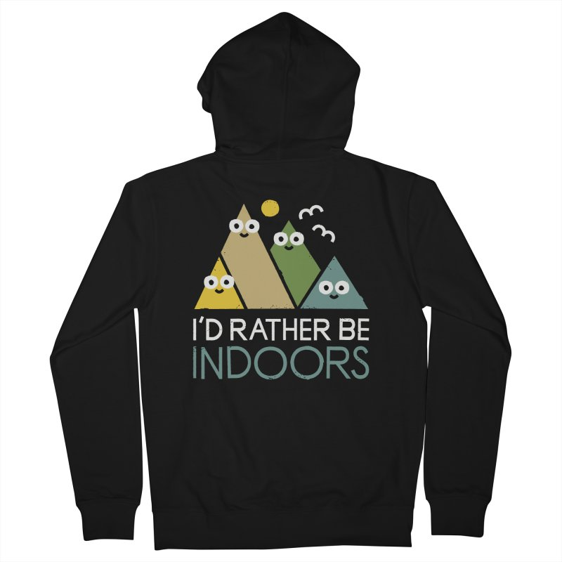 Interior Motives Women's French Terry Zip-Up Hoody by David Olenick