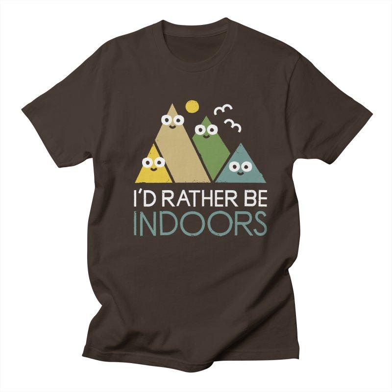 Interior Motives Men's Regular T-Shirt by David Olenick