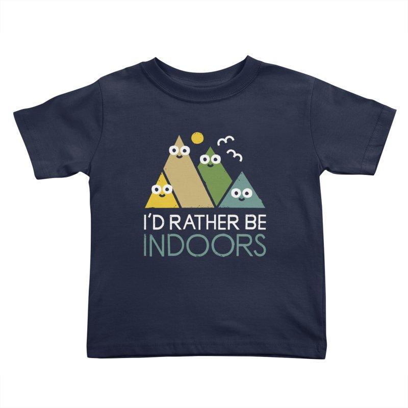 Interior Motives Kids Toddler T-Shirt by David Olenick