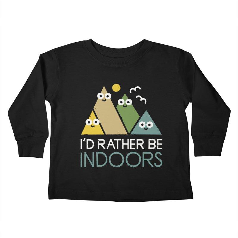 Interior Motives Kids Toddler Longsleeve T-Shirt by David Olenick