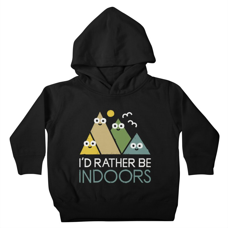 Interior Motives Kids Toddler Pullover Hoody by David Olenick