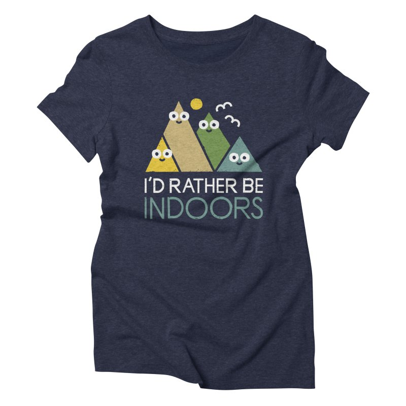 Interior Motives Women's Triblend T-Shirt by David Olenick