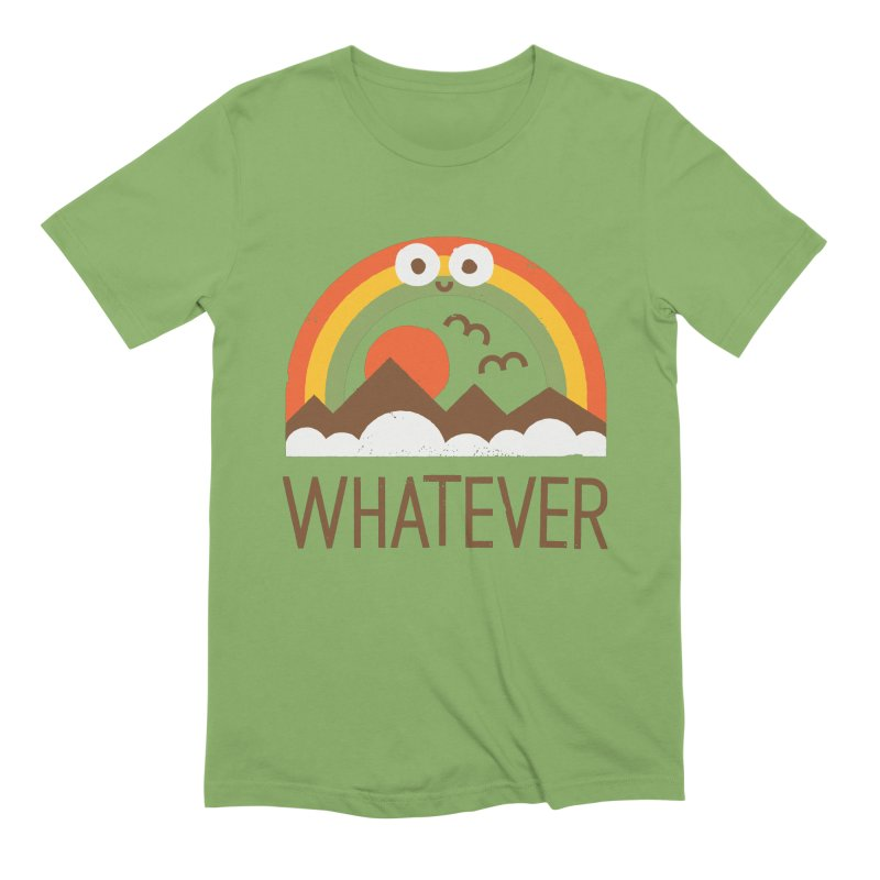 Yawn of a New Day Men's Extra Soft T-Shirt by David Olenick
