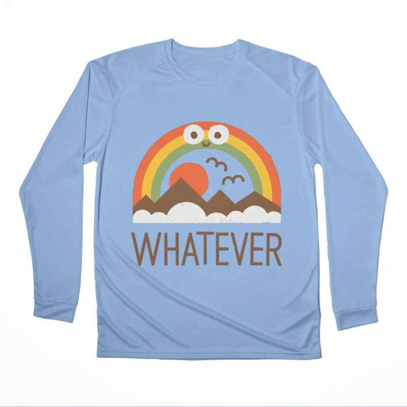 Yawn of a New Day Women's Performance Unisex Longsleeve T-Shirt by David Olenick