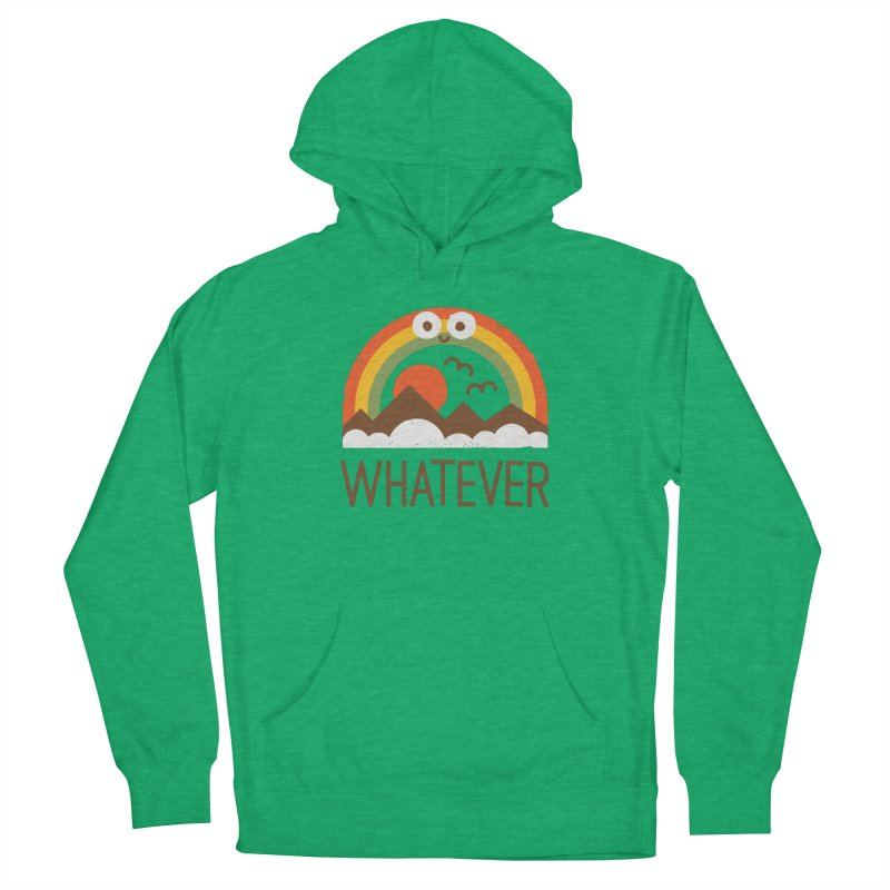 Yawn of a New Day Men's French Terry Pullover Hoody by David Olenick
