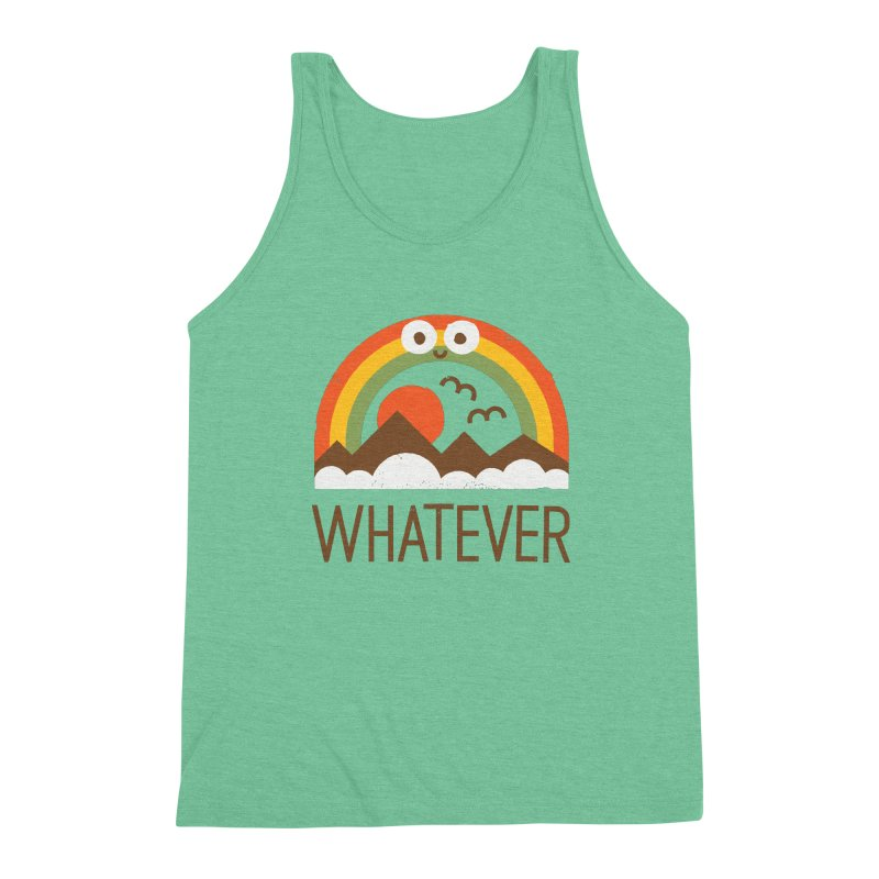 Yawn of a New Day Men's Triblend Tank by David Olenick