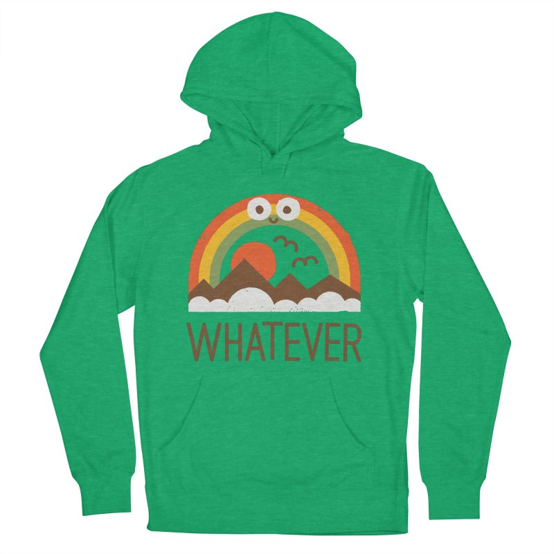Yawn of a New Day Women's French Terry Pullover Hoody by David Olenick
