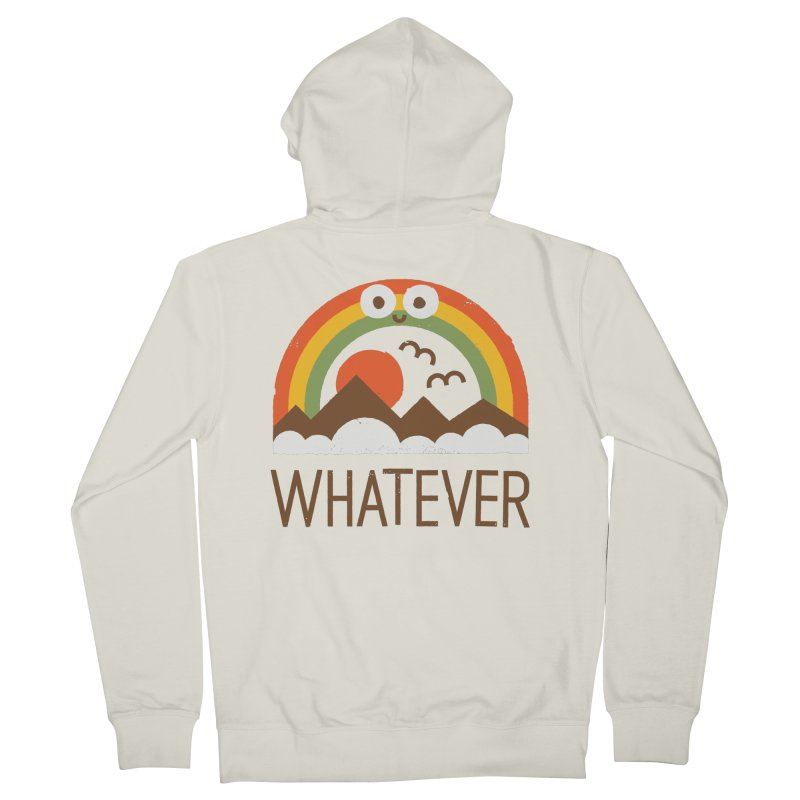 Yawn of a New Day Women's French Terry Zip-Up Hoody by David Olenick