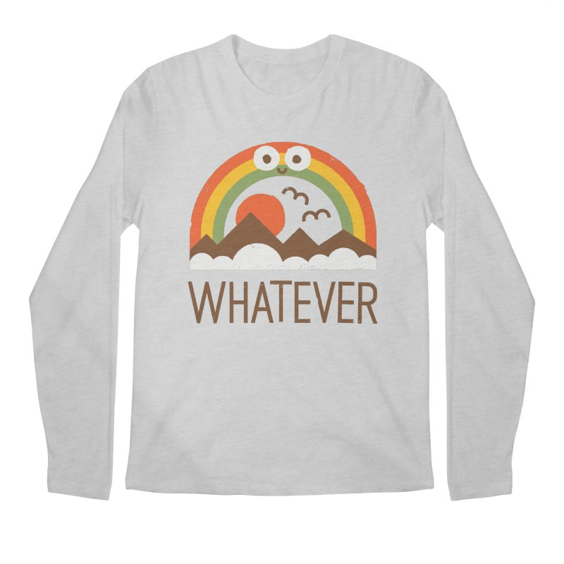 Yawn of a New Day Men's Regular Longsleeve T-Shirt by David Olenick