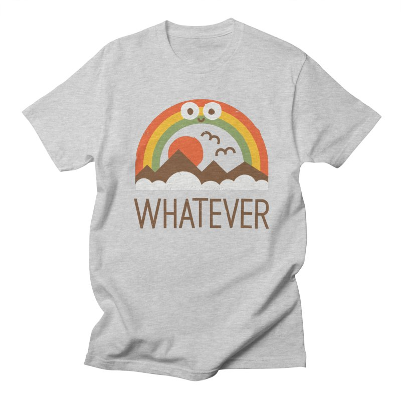 Yawn of a New Day Men's Regular T-Shirt by David Olenick