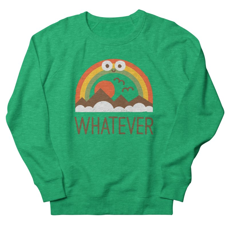Yawn of a New Day Women's French Terry Sweatshirt by David Olenick