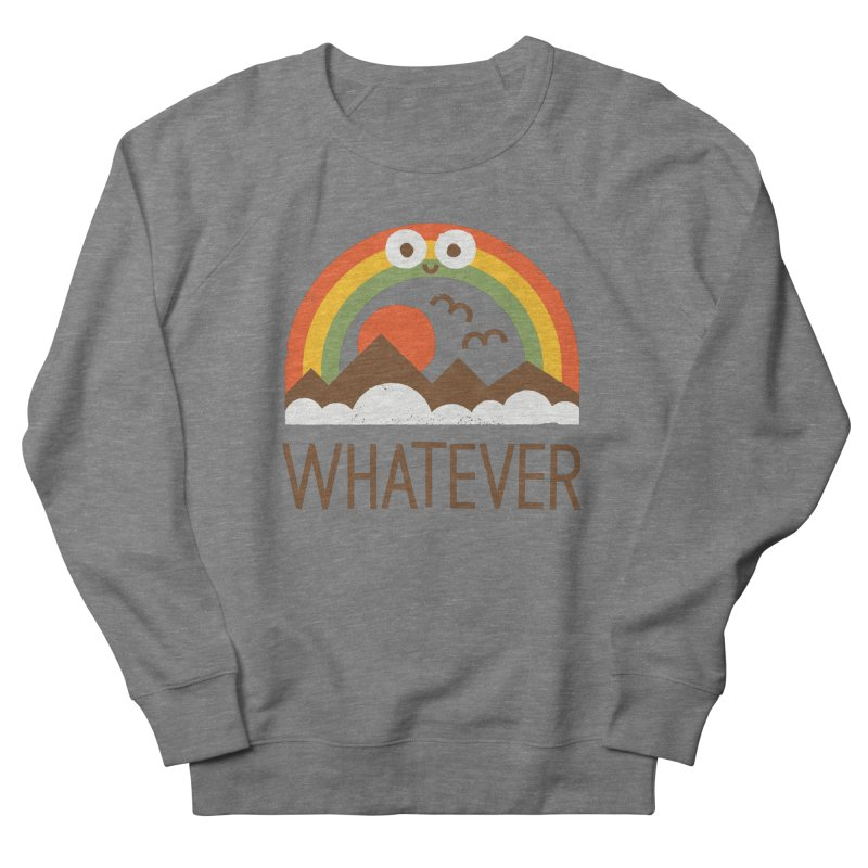 Yawn of a New Day Men's French Terry Sweatshirt by David Olenick