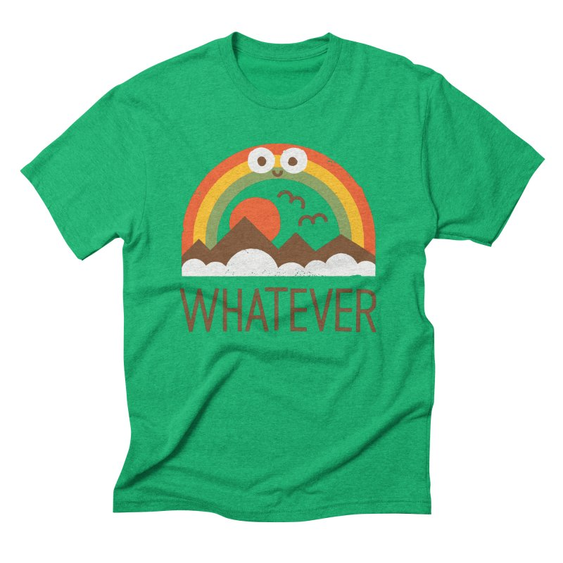 Yawn of a New Day Men's Triblend T-Shirt by David Olenick