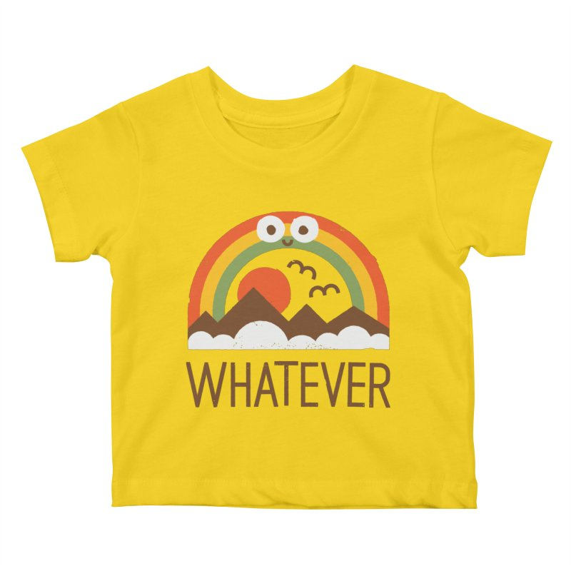 Yawn of a New Day Kids Baby T-Shirt by David Olenick