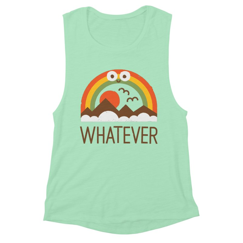 Yawn of a New Day Women's Tank by David Olenick