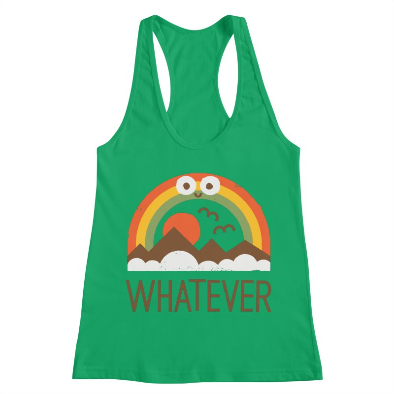 Yawn of a New Day Women's Racerback Tank by David Olenick